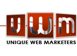 unique web marketers logo